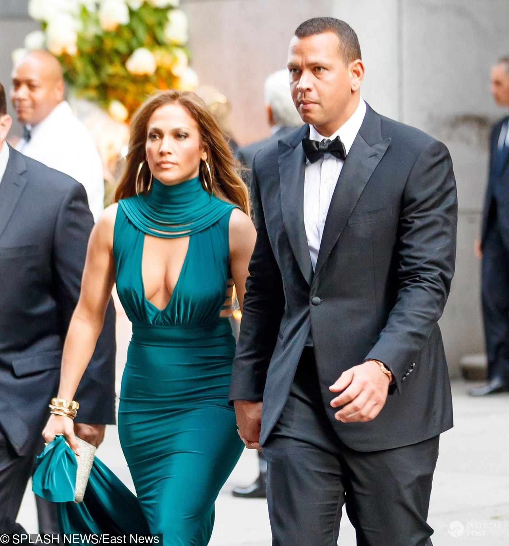 Jennifer Lopez i Alex Rodriguez na ślubie Sophie Lasry i Alex Swieca