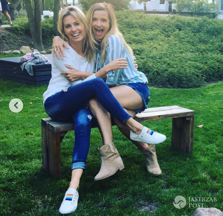 Joanna Koroniewska i Agnieszka Hyży na rodzinnych wakacjach