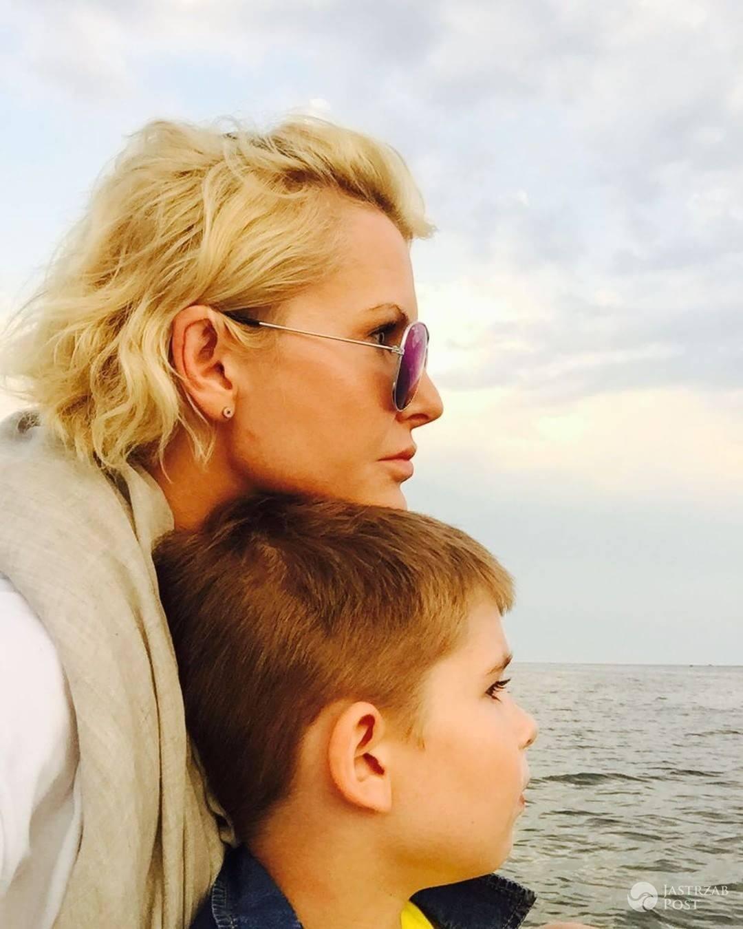 Joanna Racewicz pokazała zdjęcie z synkiem