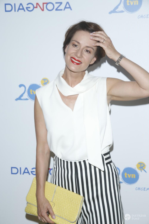Maja Ostaszewska - premiera serialu Diagnoza TVN, 2017