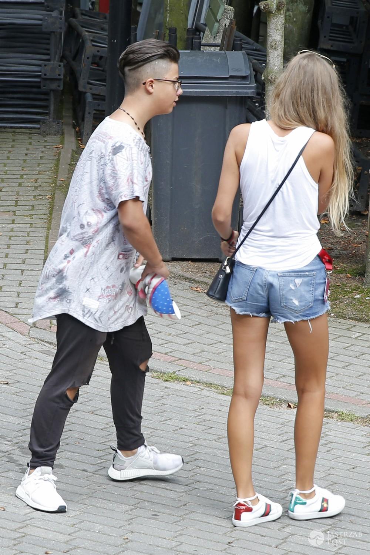 Allan Krupa w Sopocie z dziewczyną?