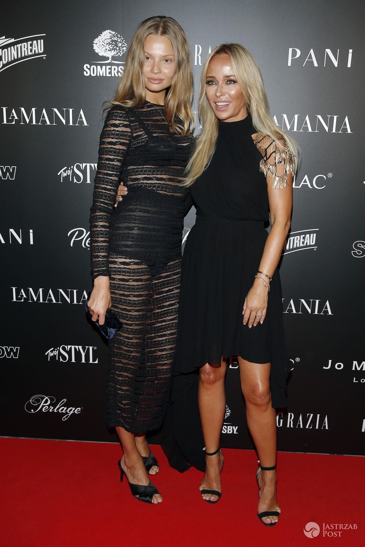 Magdalena Frąckowiak i Joanna Przetakiewicz