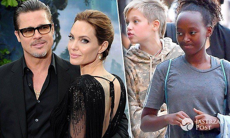 Angelina Jolie dzieci Brad Pitt rozwód