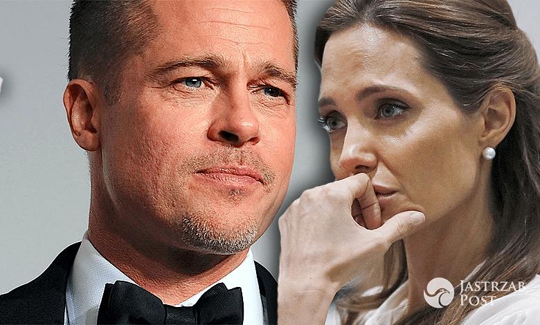 Angelina Jolie błaga Brada Pitta o pomoc