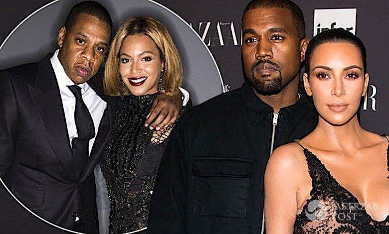 Jay Z Beyonce Kim Kardashian Kanye West