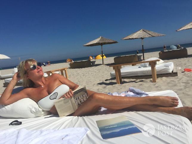 Mariola Bojarska-Ferenc w bikini