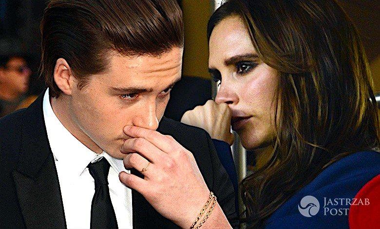 Brooklyn Beckham , Victoria Beckham płacze
