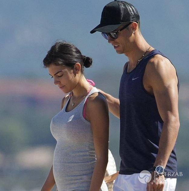 Dziewczyna Cristiano Ronaldo - Georgina Rodriguez udzieliła szczerego wywiadu o swojej ciąży i zgodziła się na sesję