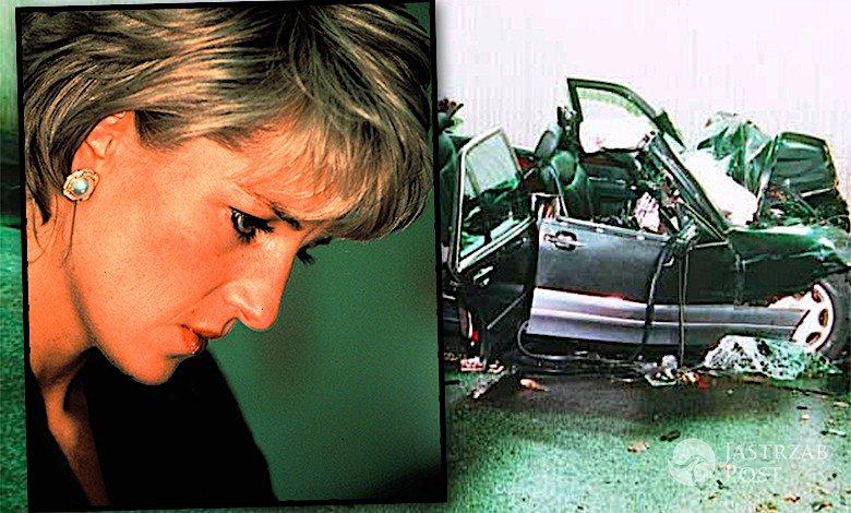 Księżna Diana limuzyna samochód auto mercedes