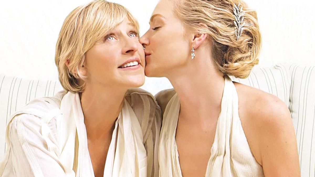 Ellen DeGeneres ślub