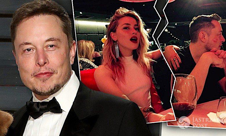 Elon Musk o rozstaniu z Amber Heard