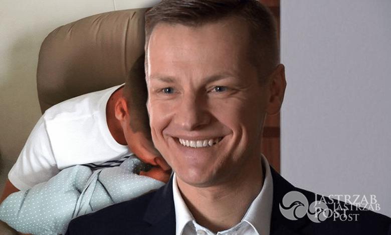 Marcin Mroczek ma drugiego syna