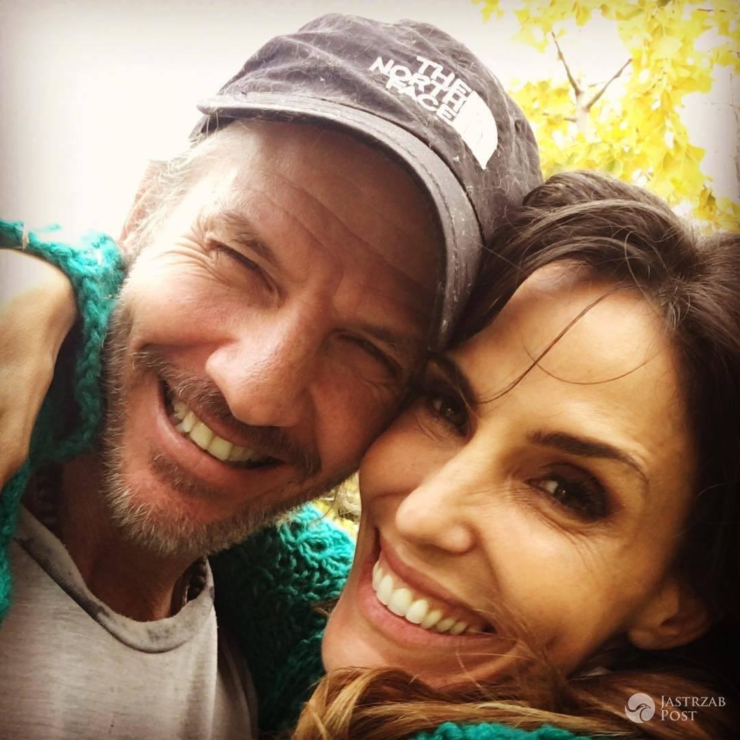 Facundo Arana z żoną na Instagramie