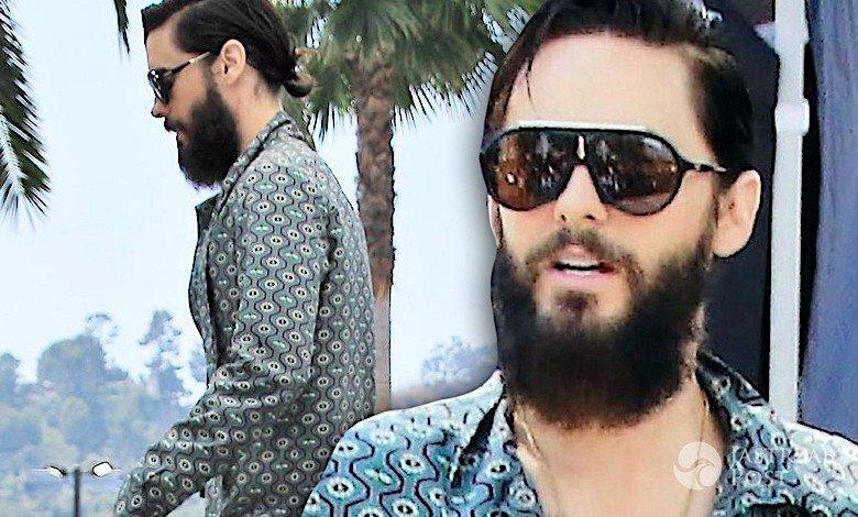 Jared Leto piżama Gucci