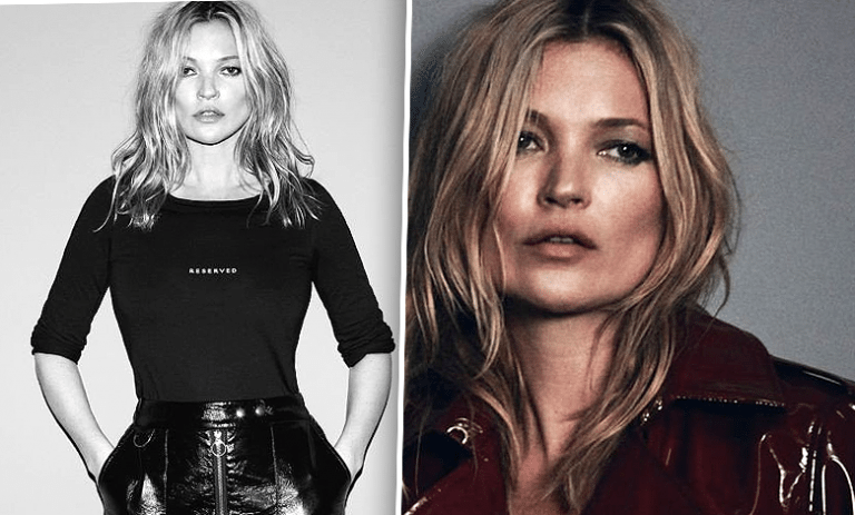 Kate Moss Reserved sesja