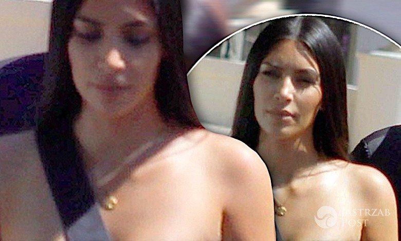 Kim Kardashian pokazała sutki i cycki