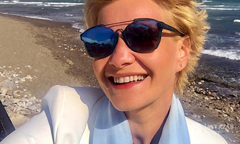 Małgorzata Kożuchowska wakacje