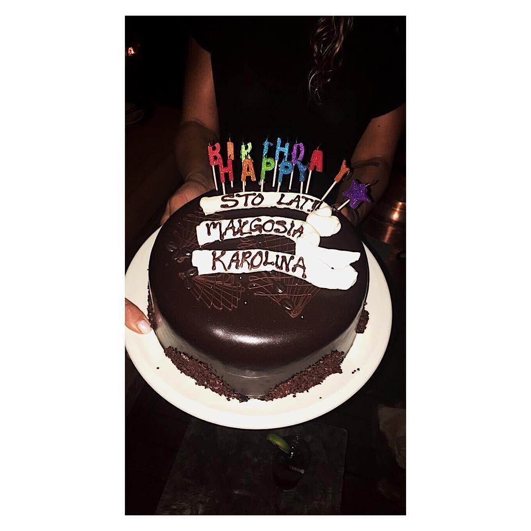 Urodzinowy tort Małgorzaty Leitner