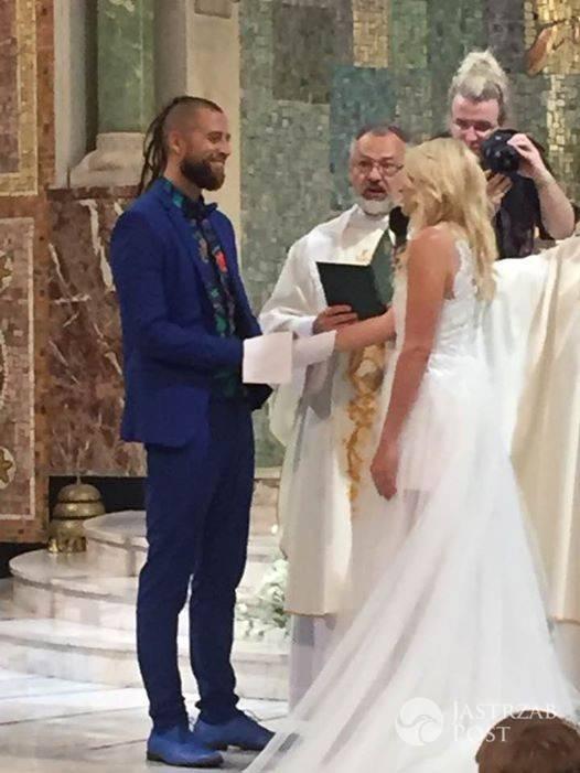 Ślub Marii Sadowskiej i Adriana Łabanowskiego