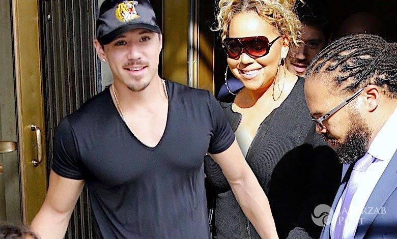 Mariah Carey z młodym kochankiem na zakupach
