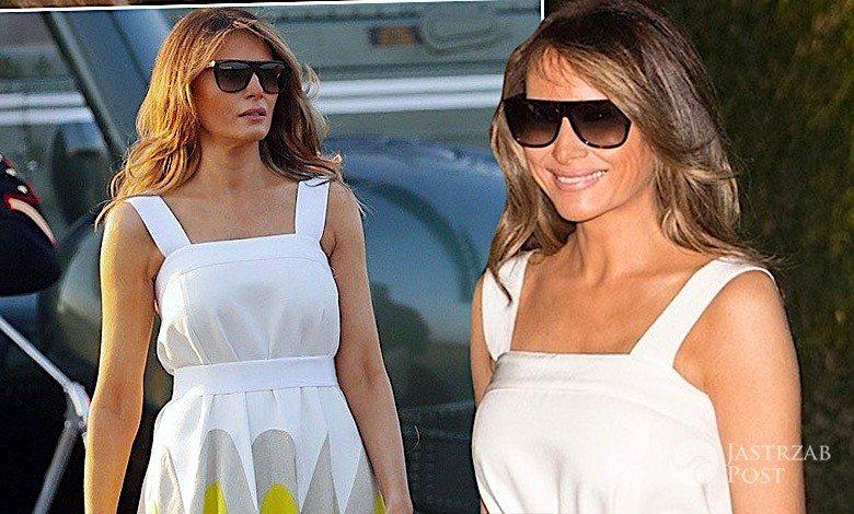 Melania Trump Delpozo sukienka