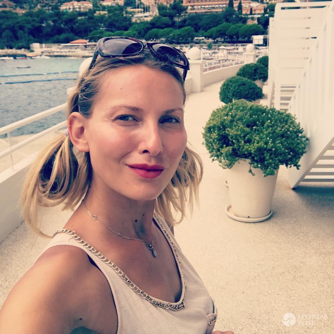 Joanna Moro w Monako