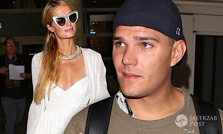Paris Hilton i Chris Zylka na lotnisku