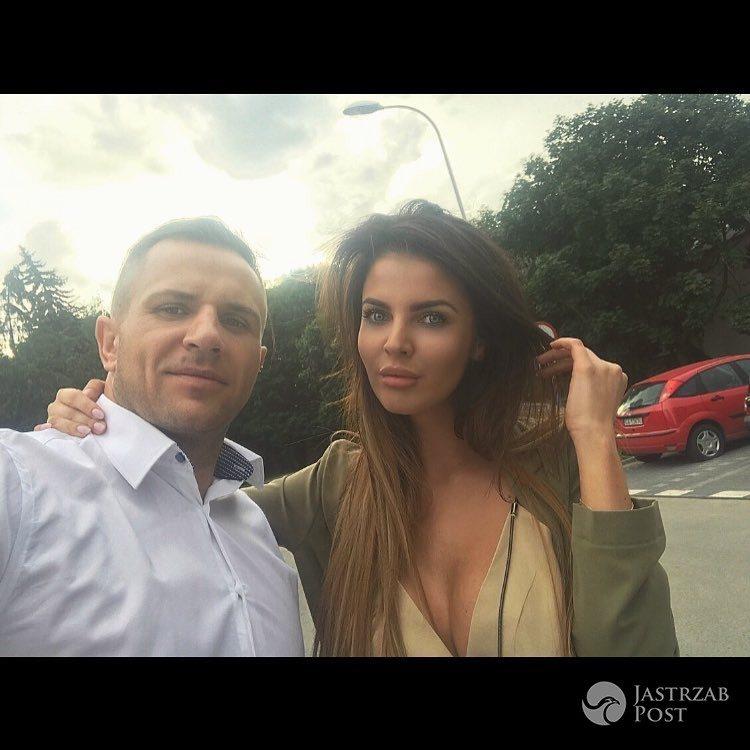 Justyna Pawlicka z Top Model z chłopakiem Rafałem