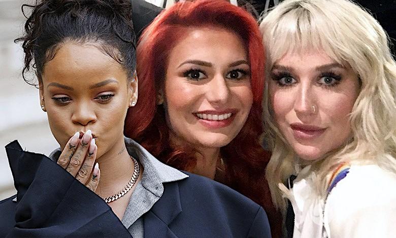Rihanna, Kesha, Ola Gintrowska
