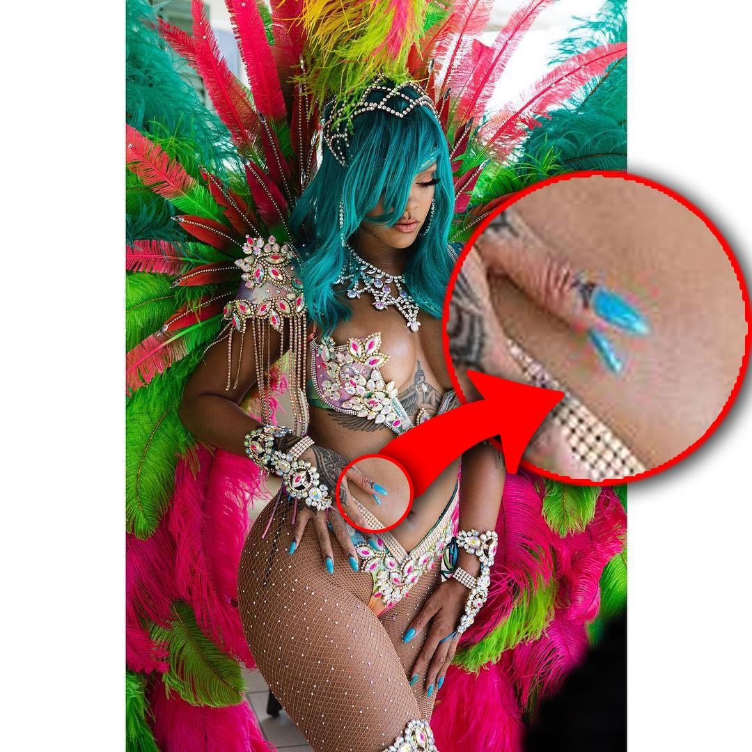 Rihanna retuszuje zdjęcia