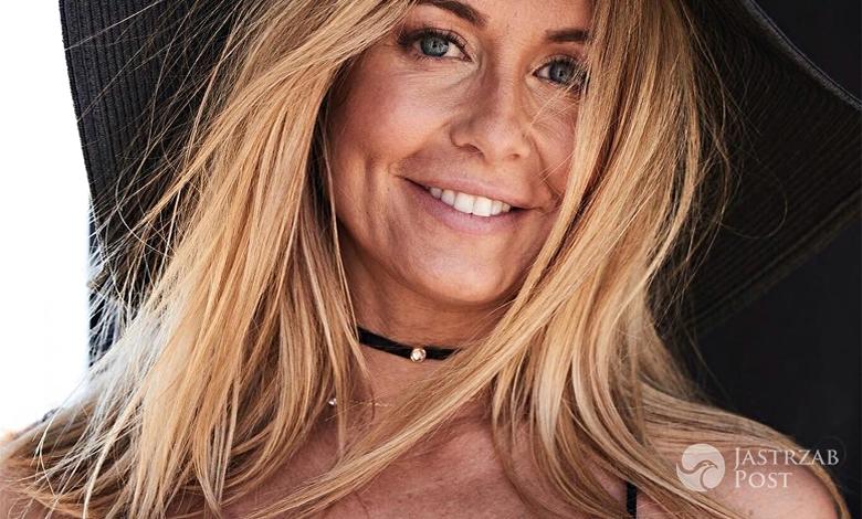 Małgorzata Rozenek w pościeli Versace