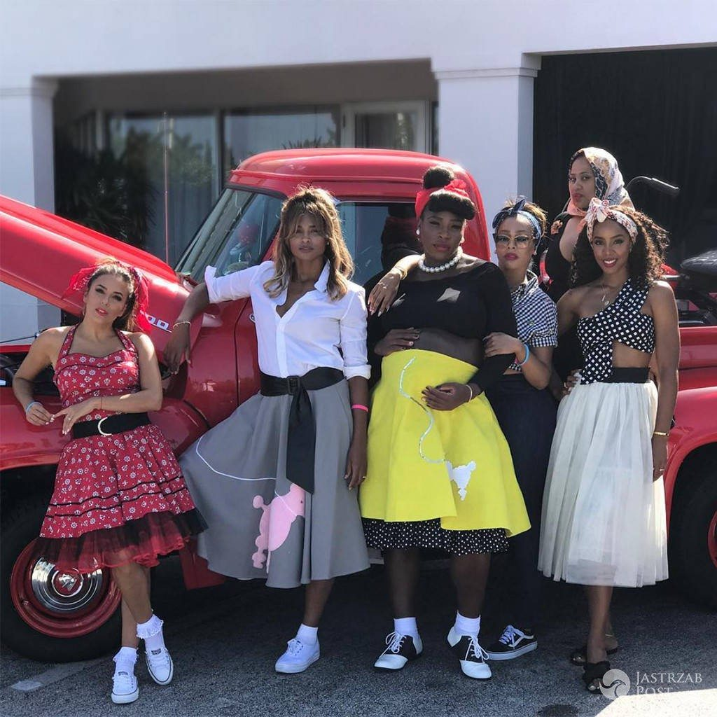 Serena Williams na baby shower