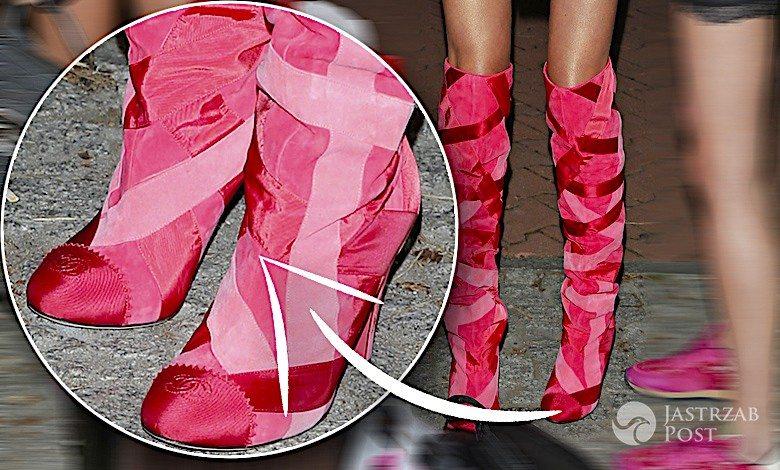 Alicja Ruchała w butach Chanel