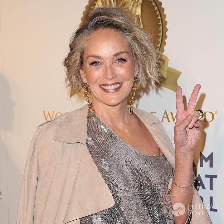 Sharon Stone bez retuszu w domu