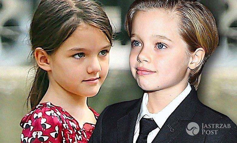 Shiloh Jolie Pitt i Suri Cruise