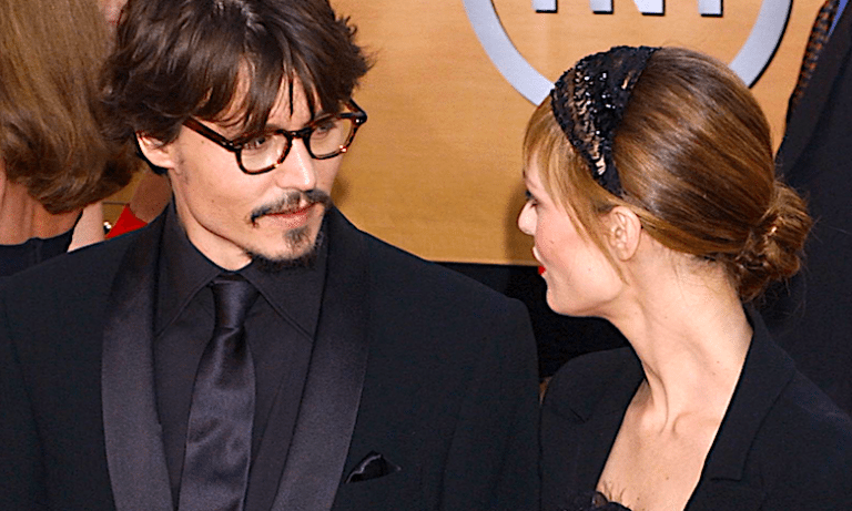 Vanessa Paradis i Johnny Deep