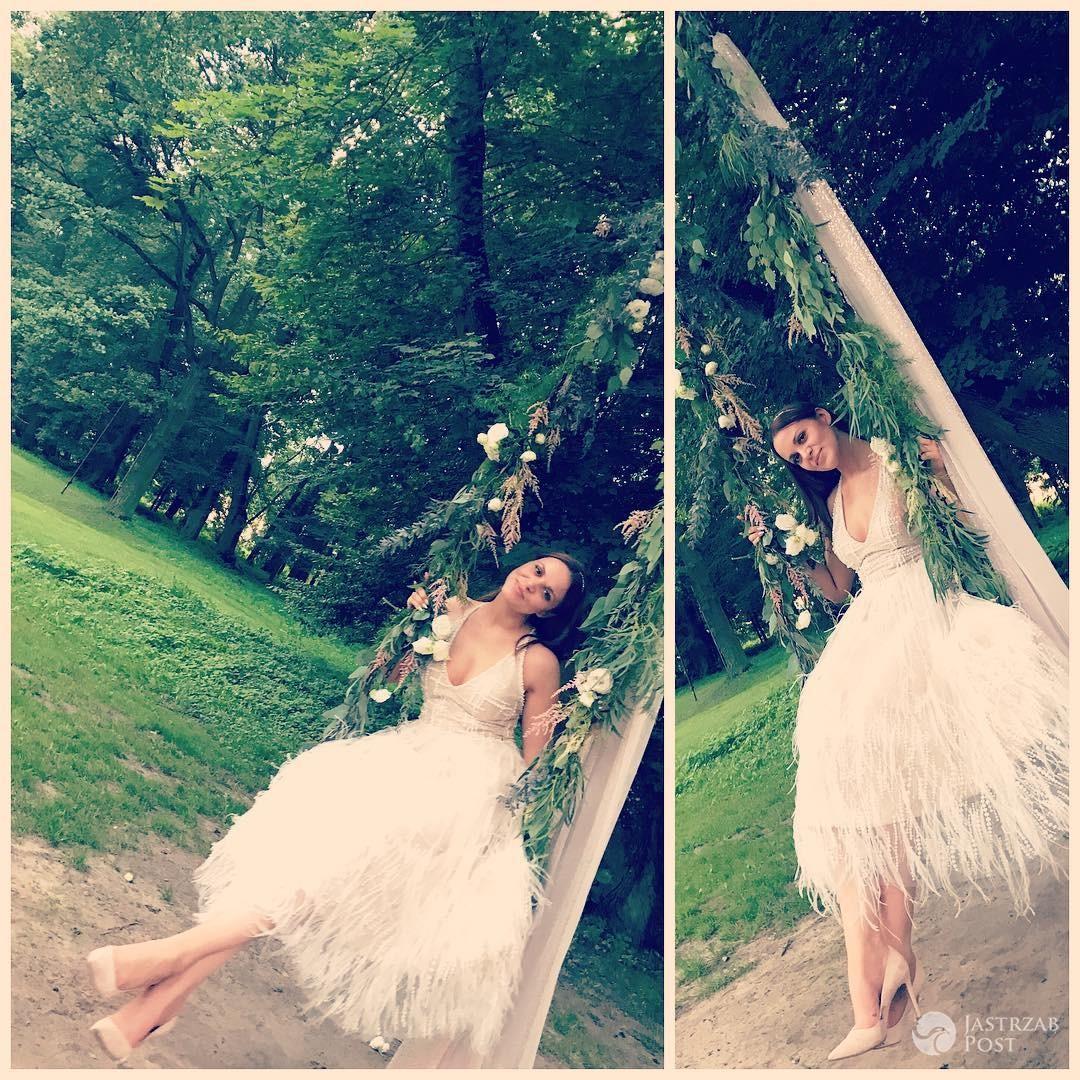 Druga suknia ślubna Dominiki Gawędy