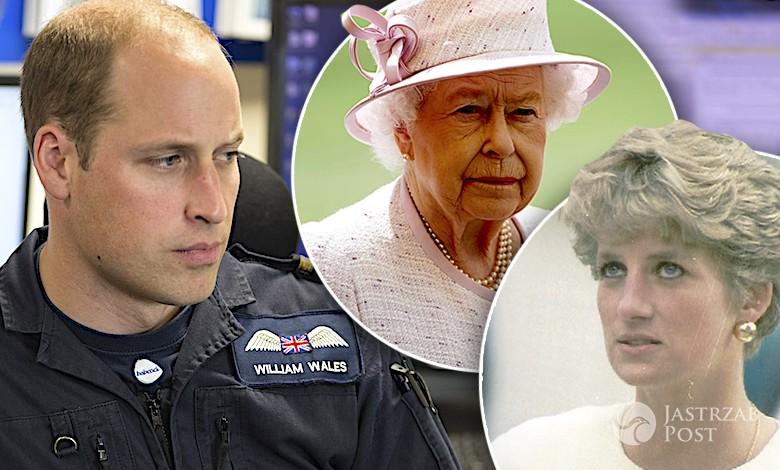 Książę William o królowej Elżbiecie II i księżnej Dianie