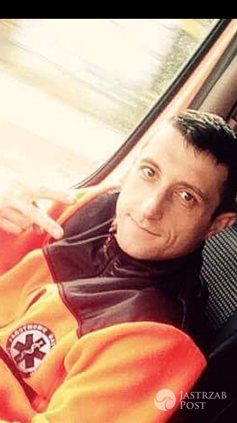 Grzegorz Hummel ma guza mózgu - fot. Facebook