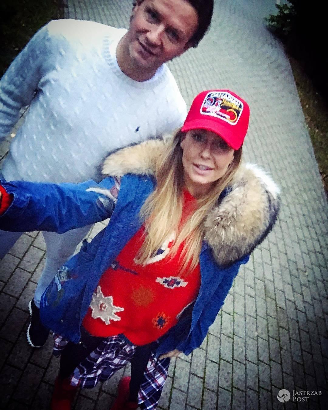Małgorzata Rozenek w kurtce z futrem