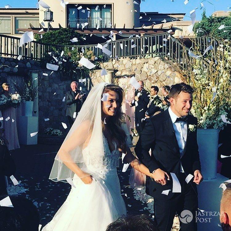 Marta Krupa i Marco Andretti wzięli ślub