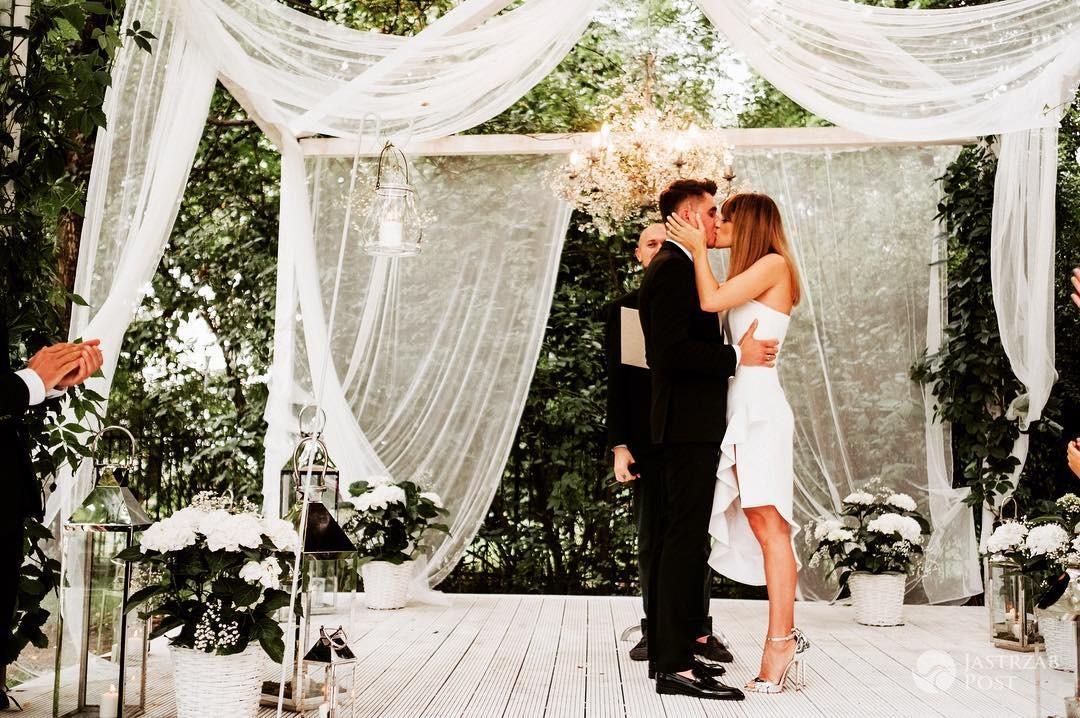 Aleksandra Kisio wzięła ślub
