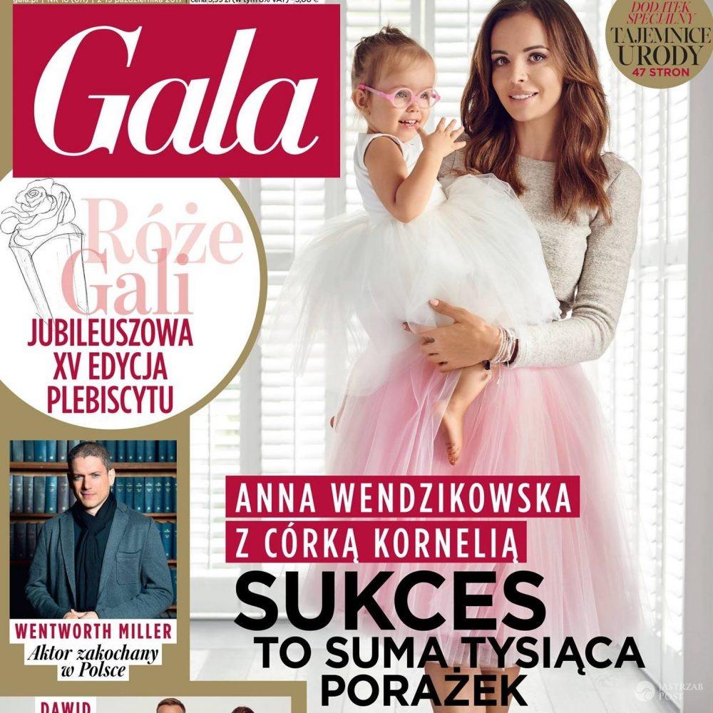 Anna Wendzikowska z córką Kornelią na okładce GALI