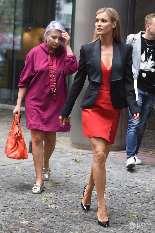 Joanna Krupa z Justyną Bulińską, swoją stylistką