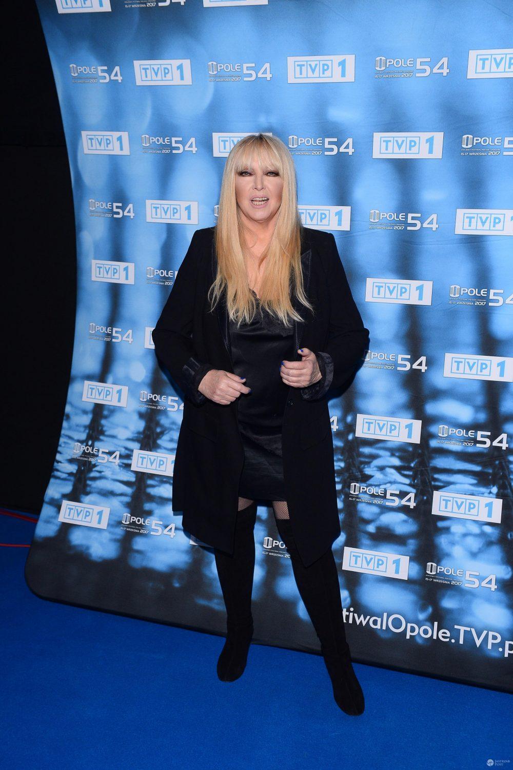 Maryla Rodowicz na konferencji festiwalu Ople 2017
