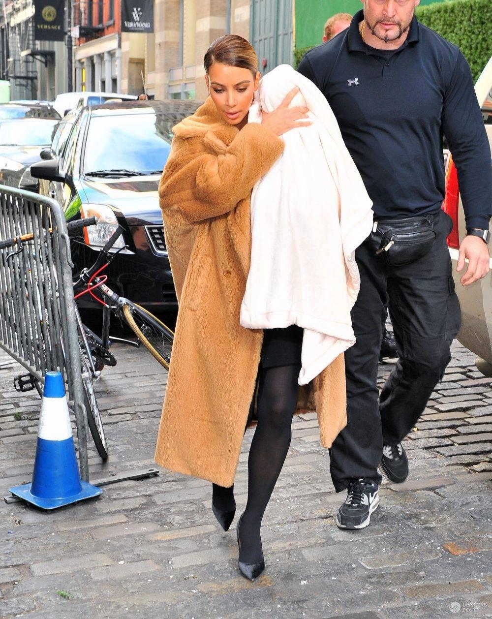Kim Kardashian nosi naturalne futra