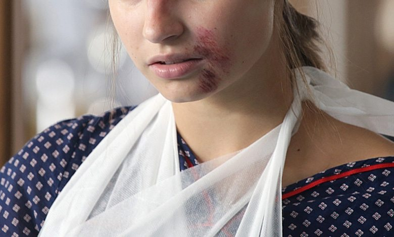 "Julia Wieniawa w serialu ""Lekarze na start"""