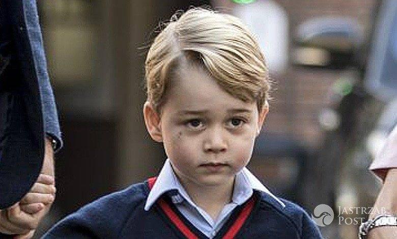 Włamanie w szkole księcia George'a