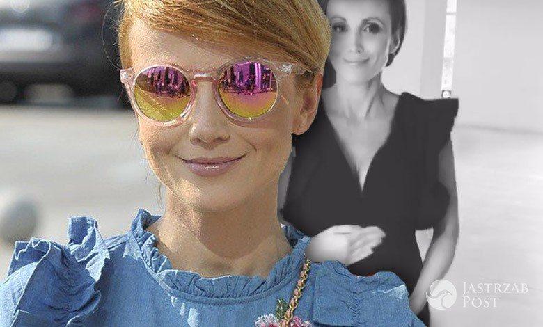 Katarzyna Zielińska chwali się brzuszkiem