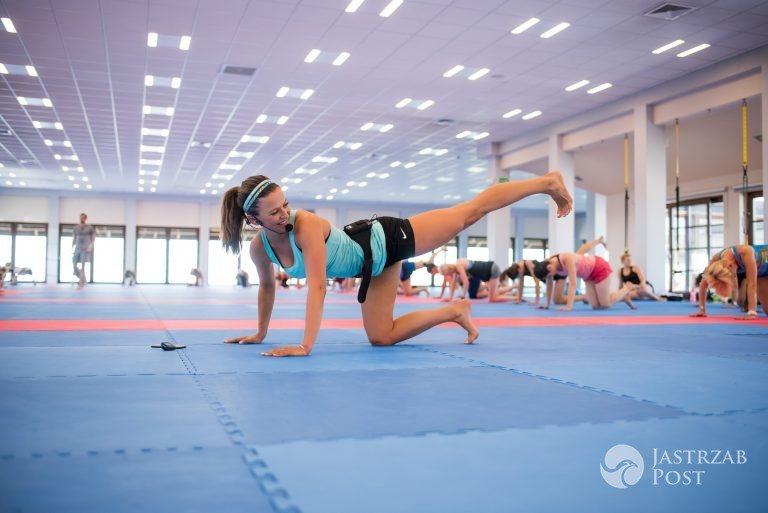 Letni obóz treningowy Anny Lewandowskiej